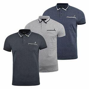 Mens-Polo-Shirt-kangol-Short-Sleeve-T-Shirt-Top-Saint