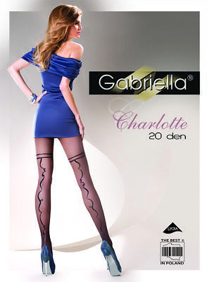 Gabriella Charlotte 282 Collant 20den Nero Protestava Finemente Collant S-l Hot-e S-l Hot It-it Mostra Il Titolo Originale