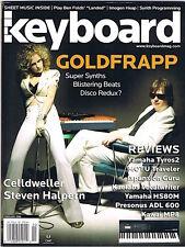 2006 Goldfrapp, YAMAHA Tyros2, HS80M, KAWAI MP8 Keyboard Magazine Reviews