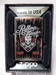 Zippo-034-Rolling-Thunder-034-SUPER-FUERTE-NUEVO-Y-EMB-orig-379