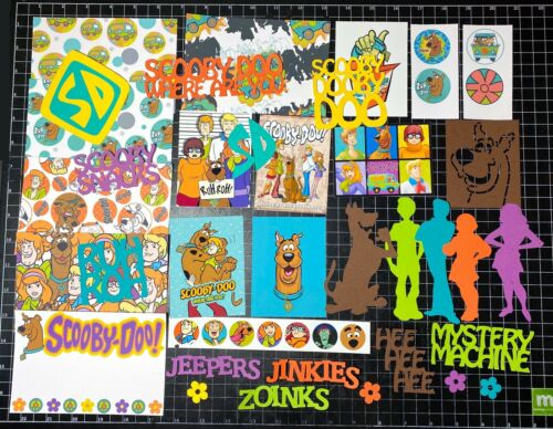 Project Life die cuts Velma, Shaggy Paper Fred Scooby Doo Scrapbook Kit