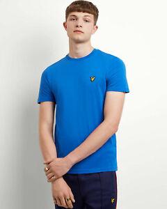 Lyle-y-Scott-Hombre-Plain-T-Shirt-algodon