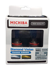 Michiba h9 12v 65w 5000k Diamond Vision Lampadine (Bianco)