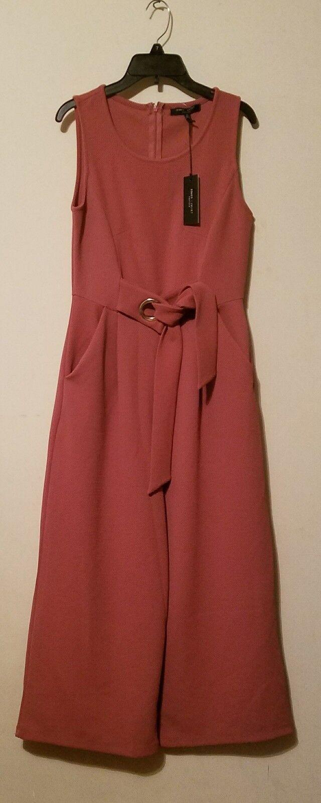 Romeo + Juliet Couture Women Jumpsuit Vintage pink As M