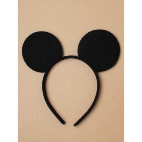 Black micky mouse ears boys//girls headband Fancy Dress Costume Accessory