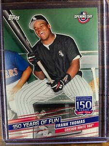 Frank Thomas Baseball Card #YOF-16 Topps 150 Years Chicago White Sox MLB HOF