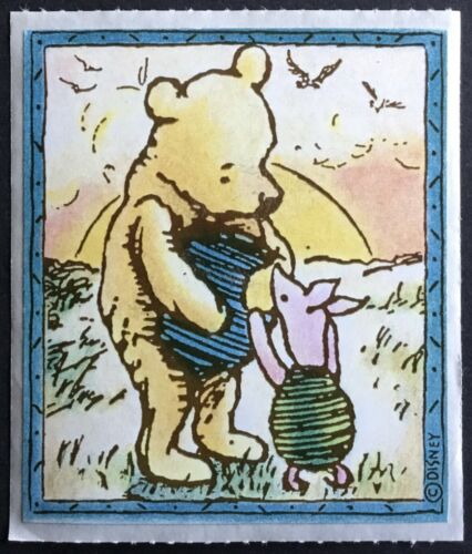 Disney Adorable!! Classic Winnie the Pooh Vintage 80s Stickers