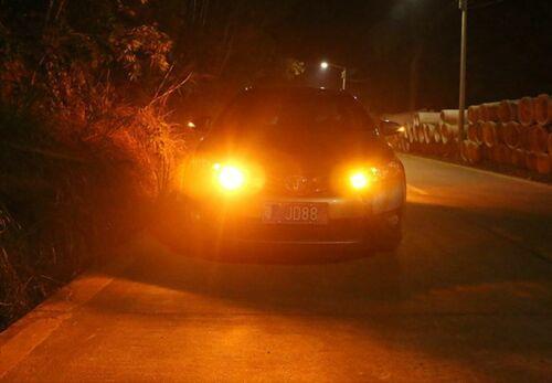 2x T20 7440 144SMD 3014 Led Car Turn Signal Tail Light bulbs no hyper flash W21W