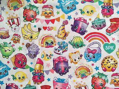 Brand New Shopkins Print Fabric