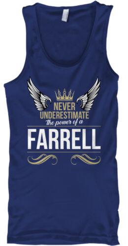 Farrell Ne sous-Estimez jamais Heather-The Power of a Male Tank Top