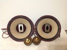PAIR OF VINTAGE GOODMAN GOODMANS TRIAXIOM TRIAXIAL 12 INCH FULL RANGE SPEAKERS