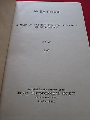 Hartig Weather: A Monthly Magazine For All Interested In Meteorology: Vol Iv 1949 Om Te Genieten Van Een Hoge Reputatie Op De Internationale Markt