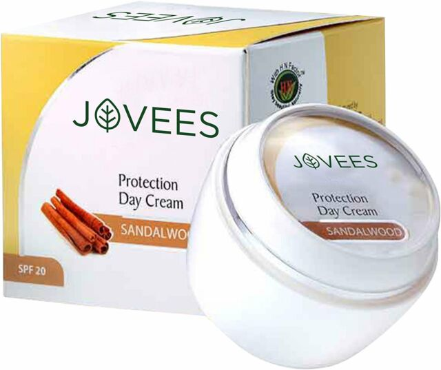 Jovees Sandalwood Protection Day Cream SPF-20, 50g FS