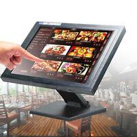 Usb 15 Zoll Pos Touchscreen Monitor Lcd Stand Kassenmonitor Für Kassensystem