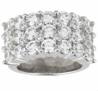 5.64 carat Round DIAMOND Wedding Ring Mens 14K Gold Band G color SI1 clarity