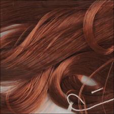 0362 1 oz Custom OOAK//Reroots  30gram Wine brown SARAN Hair