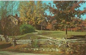 Martin-Lodge-Brown-County-State-Park-Nashville-Indiana-Vintage-Postcard-A111