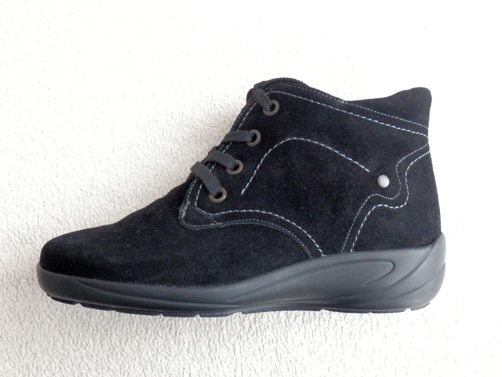 Semler schwarz Birgit Kurzschaft Stiefel Stiefelette schwarz Semler Gr. 33 38 39 41Weite H 28d181