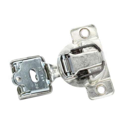 "25x Grass 108 Deg 3//4/"" Overlay Self Close Screw Compact Cabinet Hinge 04400-15"