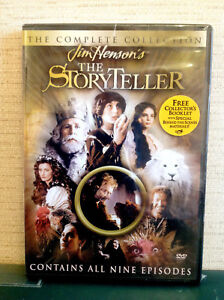 Jim-Henson-039-s-The-Storyteller-Complete-Collection-2003-DVD-Rare-OOP-w-Insert-R1