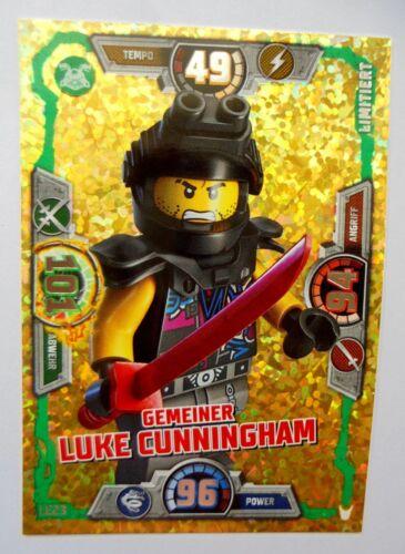Lego Ninjago Trading Card Game Serie 3 Spinjitzu LE 23 Gemeiner Luke Cunningham