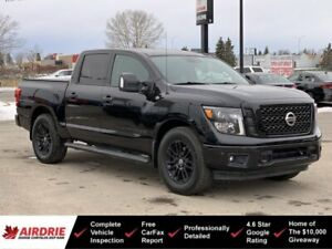 2018 Nissan Titan SL Midnight Edition 4x4 - Nav! Heated Seats!