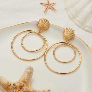 Fashion-Women-Round-earring-Dangle-Drop-Stud-Earrings-wedding-Party-Jewelry