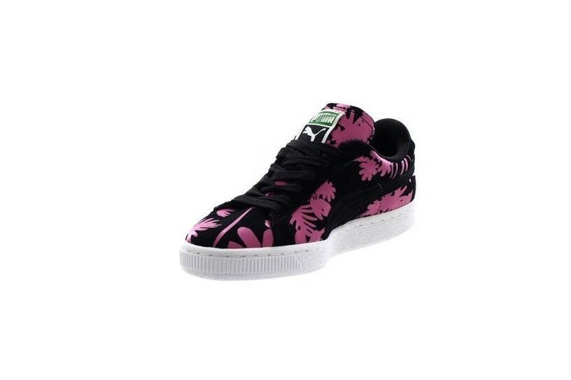 Puma Schwarzes Veloursleder Sneakers-356056-01 Klassisch Tropicalia Turnschuhe Sneakers-356056-01 Veloursleder e11a9e