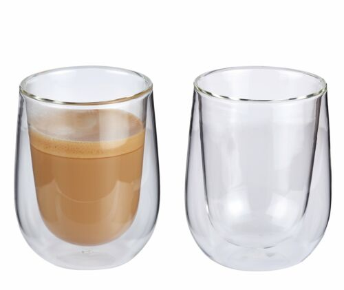 Espresso Kaffee Milchkaffee Latte Macchiato Gläser cilio VERONA doppelwandig