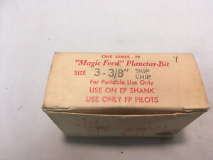 "3-3//8/"" Magic Feed Planetor-Bit For Use On FP Shank and FP Pilots"