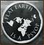 2019 1oz Flat Earth PsyOp PROOF INFOINDCOM #11 999 SILVER SHIELD GROUP SSG 777