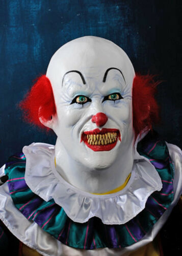 Deluxe Halloween It Clown Mask