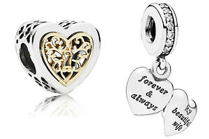 pandora forever and always charm