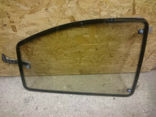 1984-1993 O//S Driver Right Rear Opening Quarter Glass Vauxhall Astra MK2