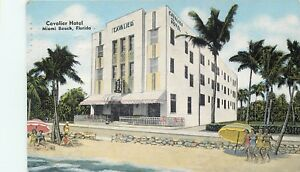 Image Is Loading Miami Beach Florida Cavalier Hotel Amp 1945