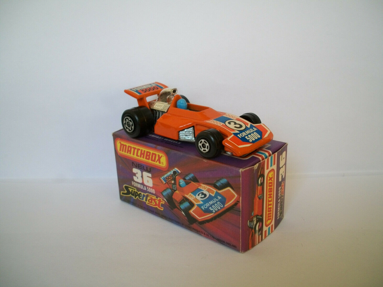Matchbox Superfast Nr. 36c Formula 5000  mit OVP mint boxed