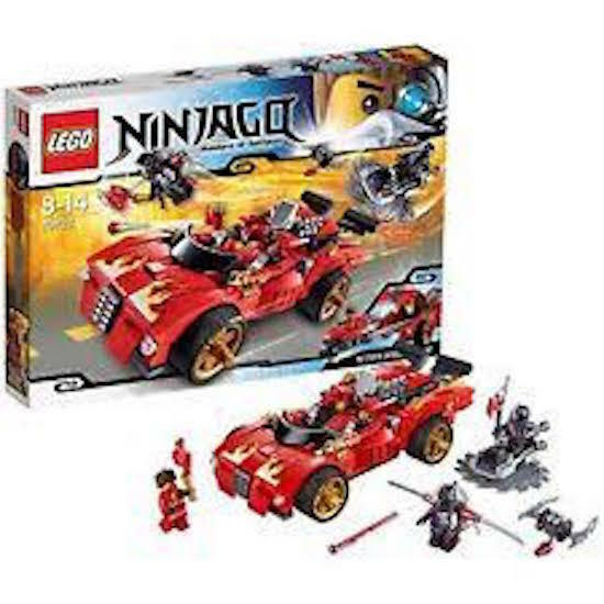 LEGO  70727 NINJAGO X-1 NINJA CHARGER CAR  SEALED NEW 394 PIECES  BONUS OFFER /