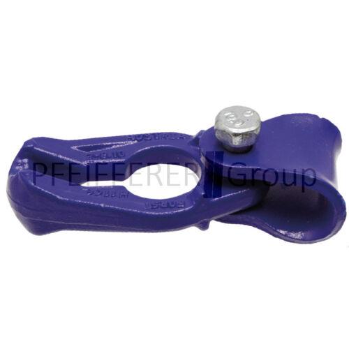 acodado F zugkraf Seilgleitbügel girable cuerdas hasta 16 mm fuertes 7+8 mm zul