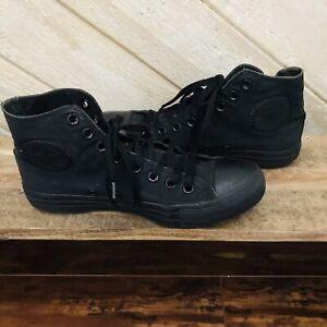 Converse-All-Star-Chuck-Taylor-Black-Canvas-Hi-Top-Men-7-Womens-9-Sneakers-M3310