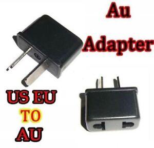 2 x USA US EUROPE to AUSTRALIA NZ New Zealand AC POWER PLUG ADAPTER CONVERTER