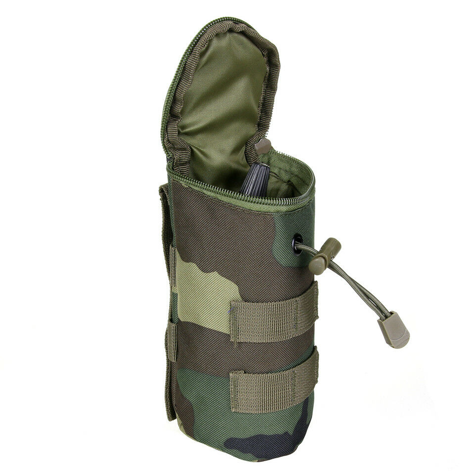 Woodland Camouflage Molle pour bouteille airsoft paintball Tactical UZI UZI UZI 27bcd8