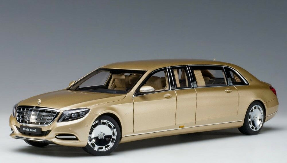 76298 AUTOart 1 18 Mercedes Maybach S600 Pullman oro