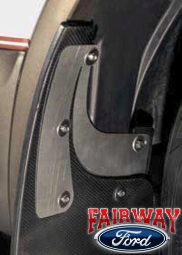 15 thru 20 F-150 Ford Gatorback Rubber /& Stainless Splash Guard Mud Flap Set 4pc