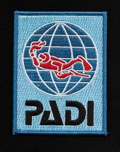 PADI-DIVER-SWIMMER-UNDERWATER-DIVE-SCUBA-DIVING-WATER-DIVER-PATCH