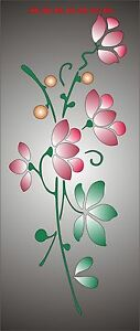 Cherry-Blossom-Branch-Stencil-350-micron-Mylar-not-thin-stuff-FL009