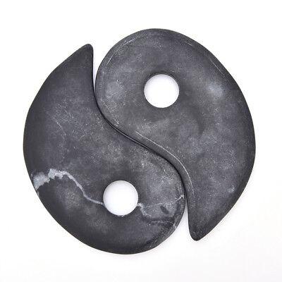 1 Para Chinesische Yin Yang Gua Sha Board Körper Gesichts SPA Scraping