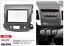 40080 2-DIN Radioblende für CITROEN C-Crosser 2007-2012 MITSUBISHI Outlander X