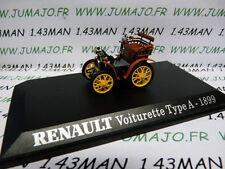 voiture 1/43 M6 Universal Hobbies : voiturette RENAULT TYPE A 1899