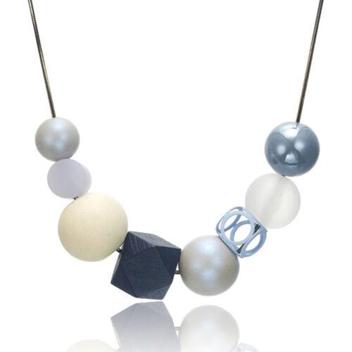 Femmes Collier Pull Pendentif Acrylique Géométrique Perles collier fashion jewelry