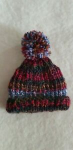 Pompom-Hat-With-Ear-Holes-For-Approx-7-1-8-7-7-8in-Bears